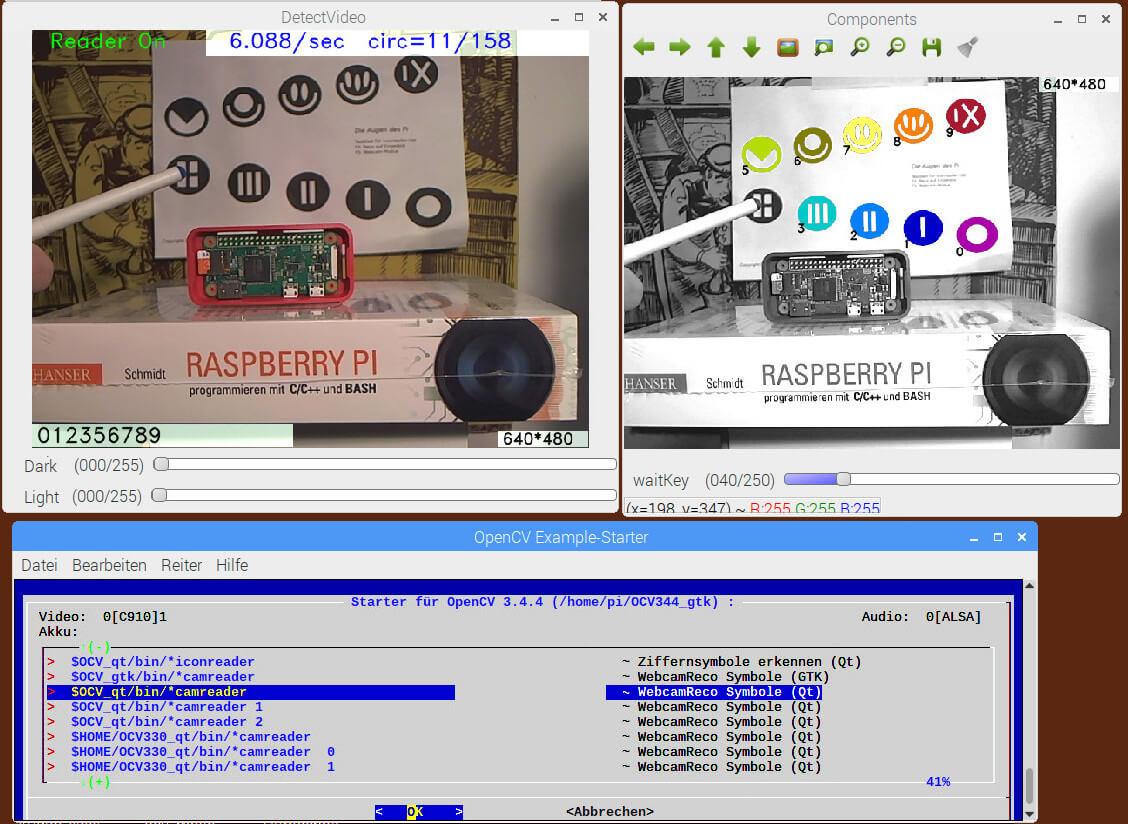 OpenCV 4.0 und 3.44