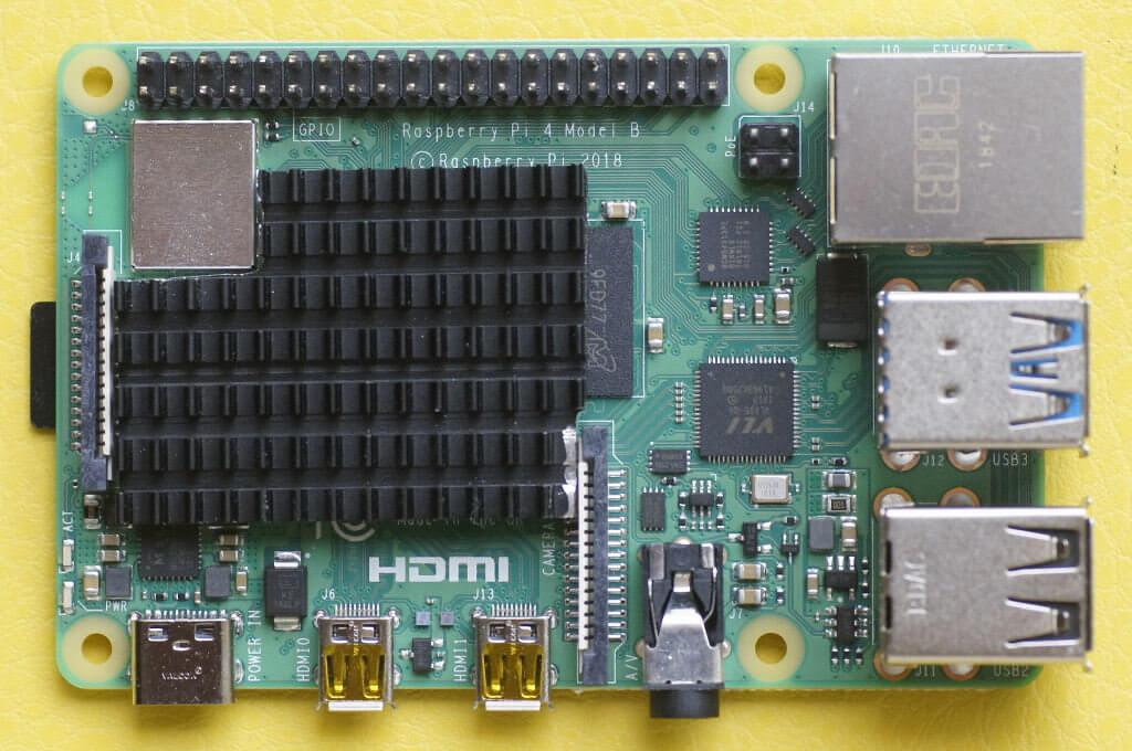 Raspberry Pi 4 und RPI COOL 40x30