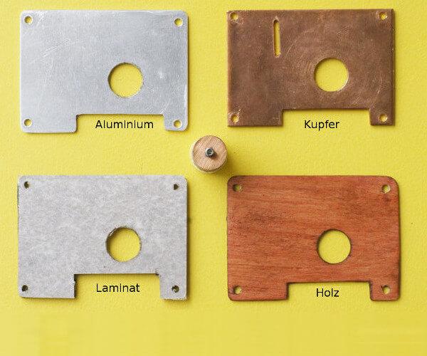 Deckel mit 20 mm Bohrung für den Kupferzylinder (StackBT-Gehäuse)