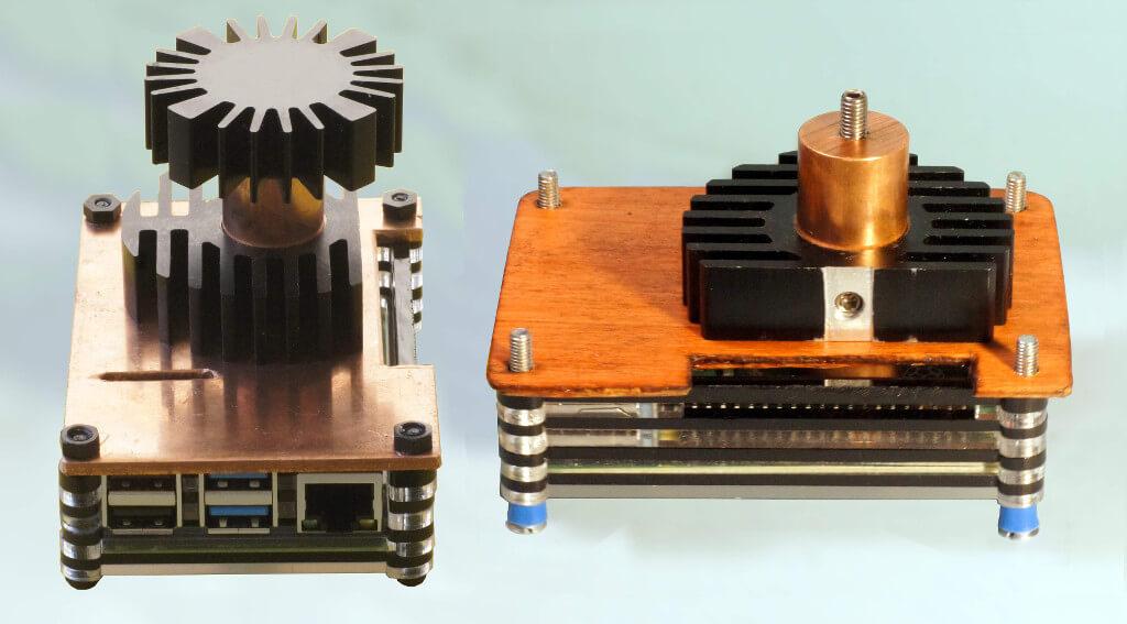 Kühlkörperkonstruktionen für den Raspberry Pi 4