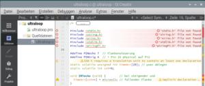 Der QtCreator 4.8.2 und CLang